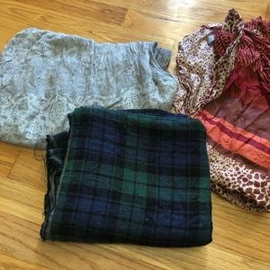 3 Loft Scarves BUNDLE